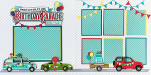 Birthday Parade 2-Page Layout