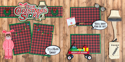 PRE-ORDER Our Christmas Story Page Kit