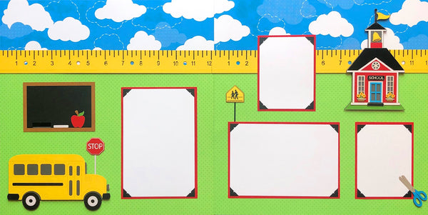Build Your Own 2 Page School Layout Kit!