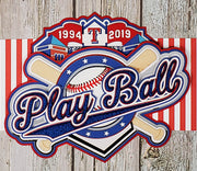 LIMITED TIME! Play Ball - Rangers