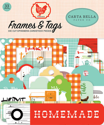 Carta Bella - Farm to Table Collection - Frames & Tags
