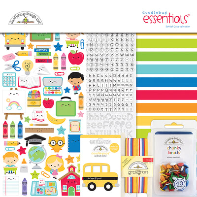 Doodlebug - School Days - Essentials Kit