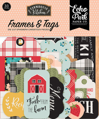 Echo Park - Farmhouse Kitchen Collection - Frames and Tags