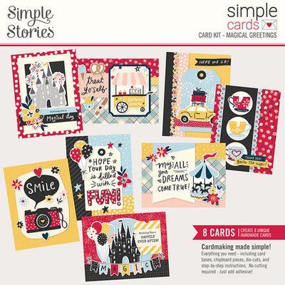 Simple Stories - Simple Cards Card Kit - Magical Greetings