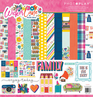 Photoplay - Wicker Lane 12 x 12 Collection Pack