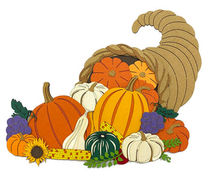 Thanksgiving Cornucopia