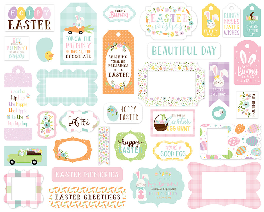 Echo Park - Welcome Easter Frames & Tags