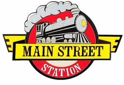 Main Street Station Sign