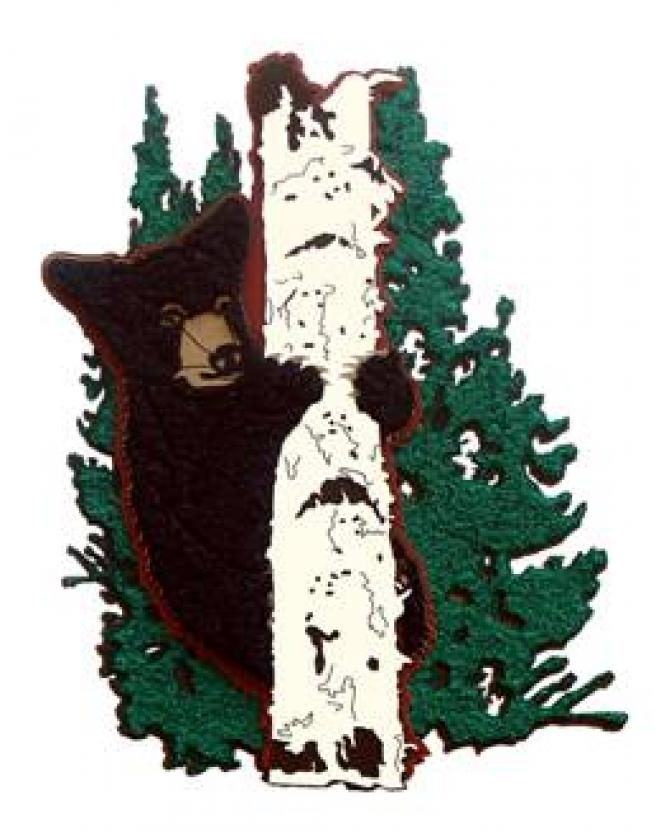 Bear in Tree