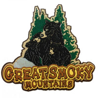 Great Smoky Mountains Bear Trio