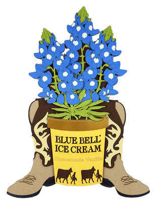 Texas Bluebell Bucket