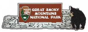 Great Smoky Mountains Rock Sign