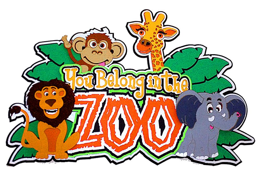 You belong in the zoo