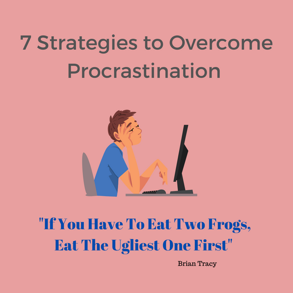 7‌ ‌Strategies‌ ‌to‌ ‌Overcome‌ ‌Procrastination‌ ‌