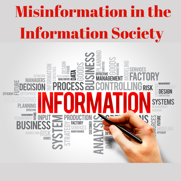 Misinformation in the Information Society