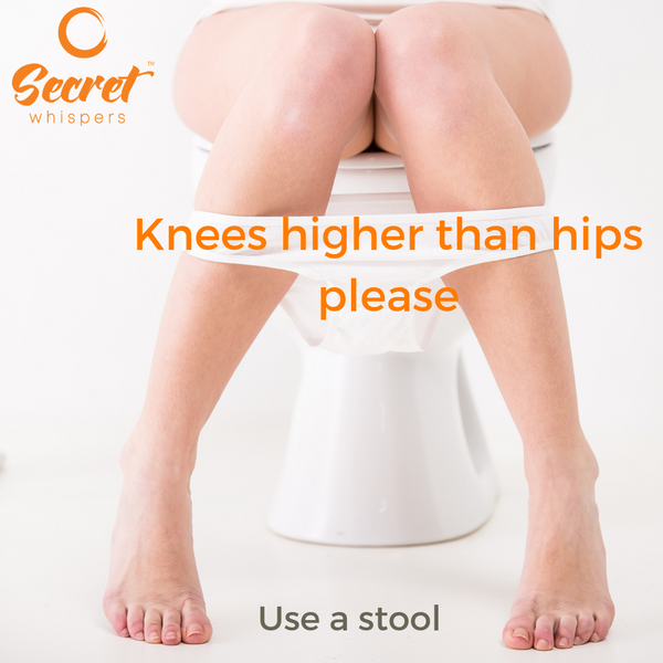 Why you should never poo without using a stool