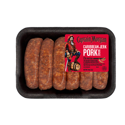 Captain Morgan Caribbean Jerk Pork Sausage, 5 lbs.