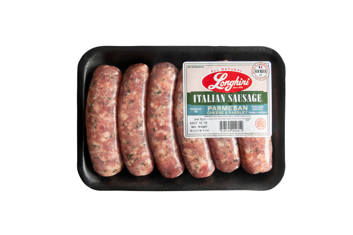 Sweet Italian Sausage with Parmesan & Parsley, 5 lbs.