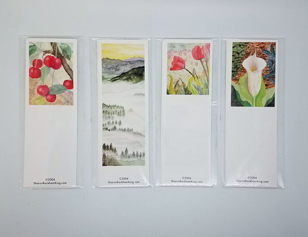 Bookmarks by Sharon Rackham King (4 for $4)