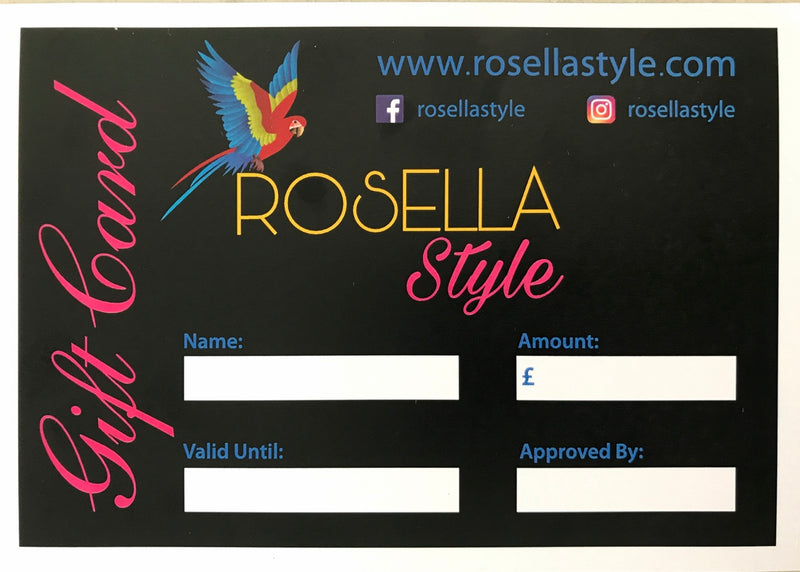 Rosella Style Gift Card