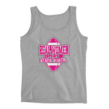 Real Women Play Fantasy Football (Tank Top)