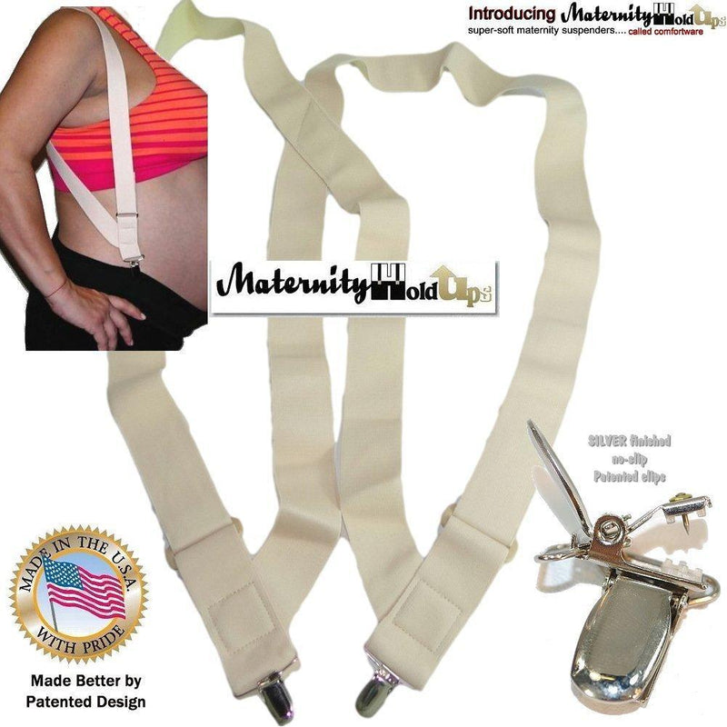 "Hold-Ups 1 1/2"" Undergarment Suspender Hip Clip style Patented No-slip Clips"