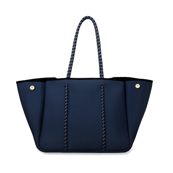 Neoprene Tote in Navy