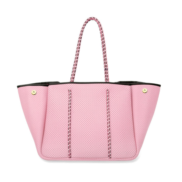 Neoprene Tote in Pink Shell