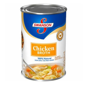 Swanson Chicken Broth 4pk