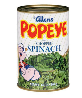 Allens Popeye Chopped Spinach 6 pk