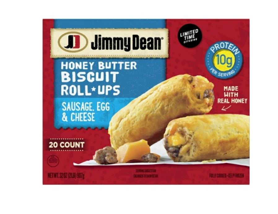Jimmy Dean Honey Biscuit Roll Up Sausage Egg Cheese