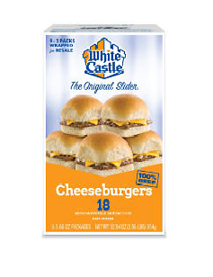 White Castle Cheeseburgers