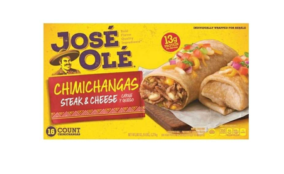 Beef & Cheese Chimichangas