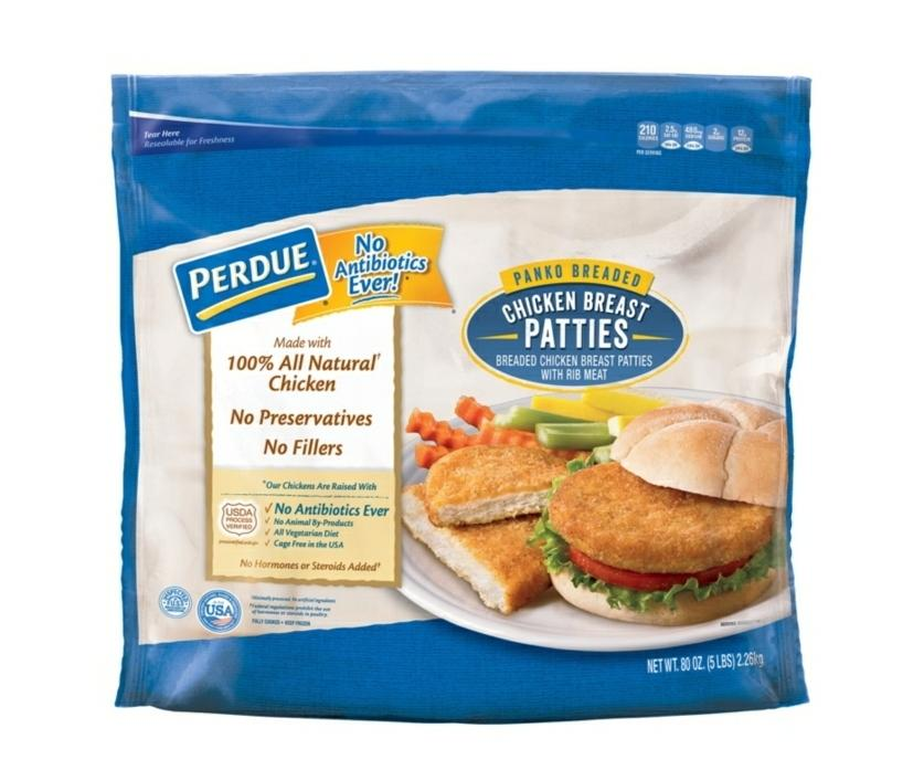 Perdue's Breaded Chicken Patties