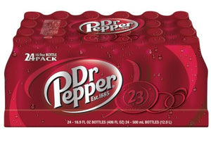Dr Pepper 24pk 16.9 Bottles
