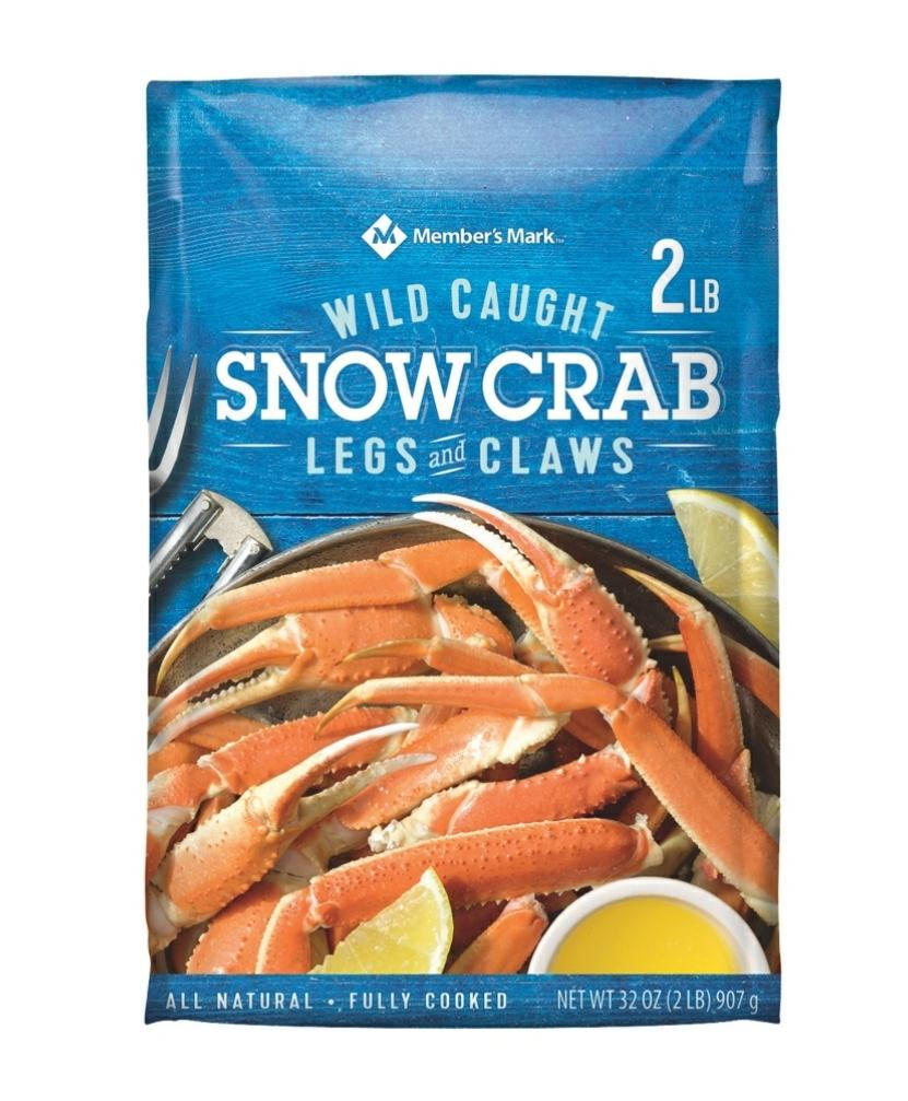 Snow Crab Clusters 2lbs