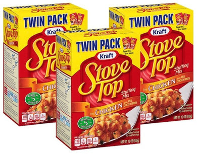 StoveTop Chicken Stuffing Twin (3 pk)