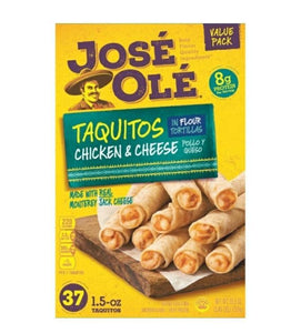 Jose Ole Taquitos Chicken & Cheese