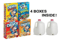 Load image into Gallery viewer, Milk & Variety Cereal Combo