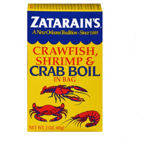 Zatarain's  Crawfish, Shrimp & Crab Boil, in bag 3oz