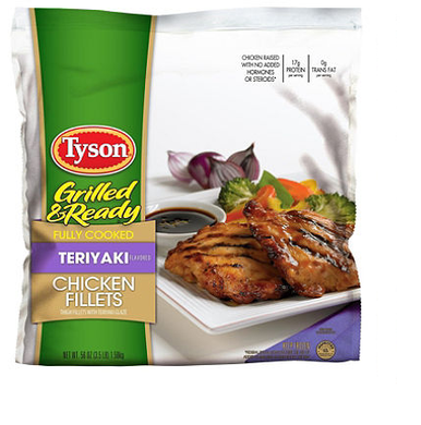 Tyson's Chicken Teriyaki Fillets