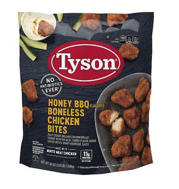 Tyson's Honey BBQ Boneless Wingz
