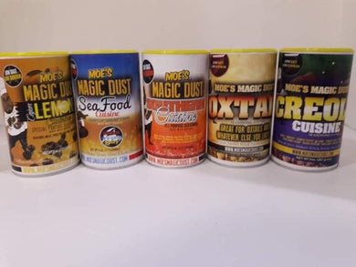 Moe's Magic Dust Seasoning