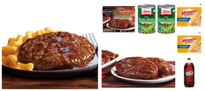 Salisbury Steak Combo