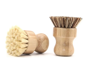 Pot and Pan Brush - Bamboo