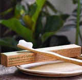 Toothbrush -  brush with bamboo