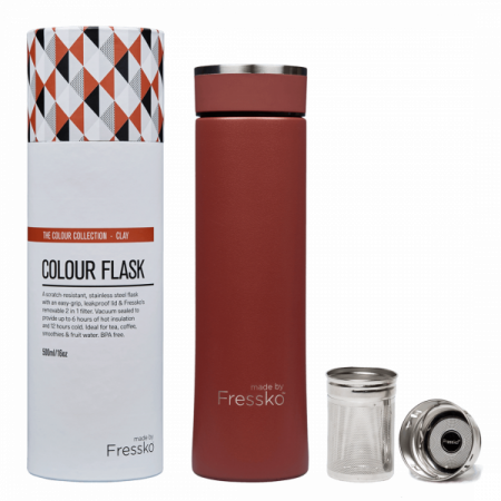 Fressko - Stainless Steel Flask 500ml