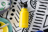 Mini Insulated Drink Bottle 350 ml bamboo lid