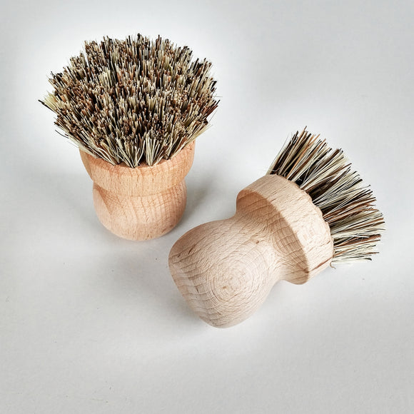 Pot and Pan Brush - Beechwood