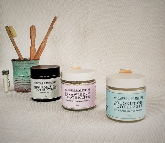 MAXWELL & MCINTYRE COCONUT OIL TOOTHPASTE